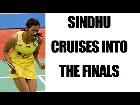 PV Shidhu cruises into India Open finals, to face Carolina Marine   Oneindia News