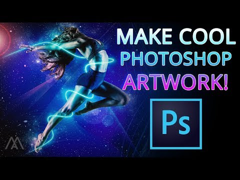 Adobe PHOTOSHOP Tutorial: Make Cool Abstract Artwork! 2019 thumbnail