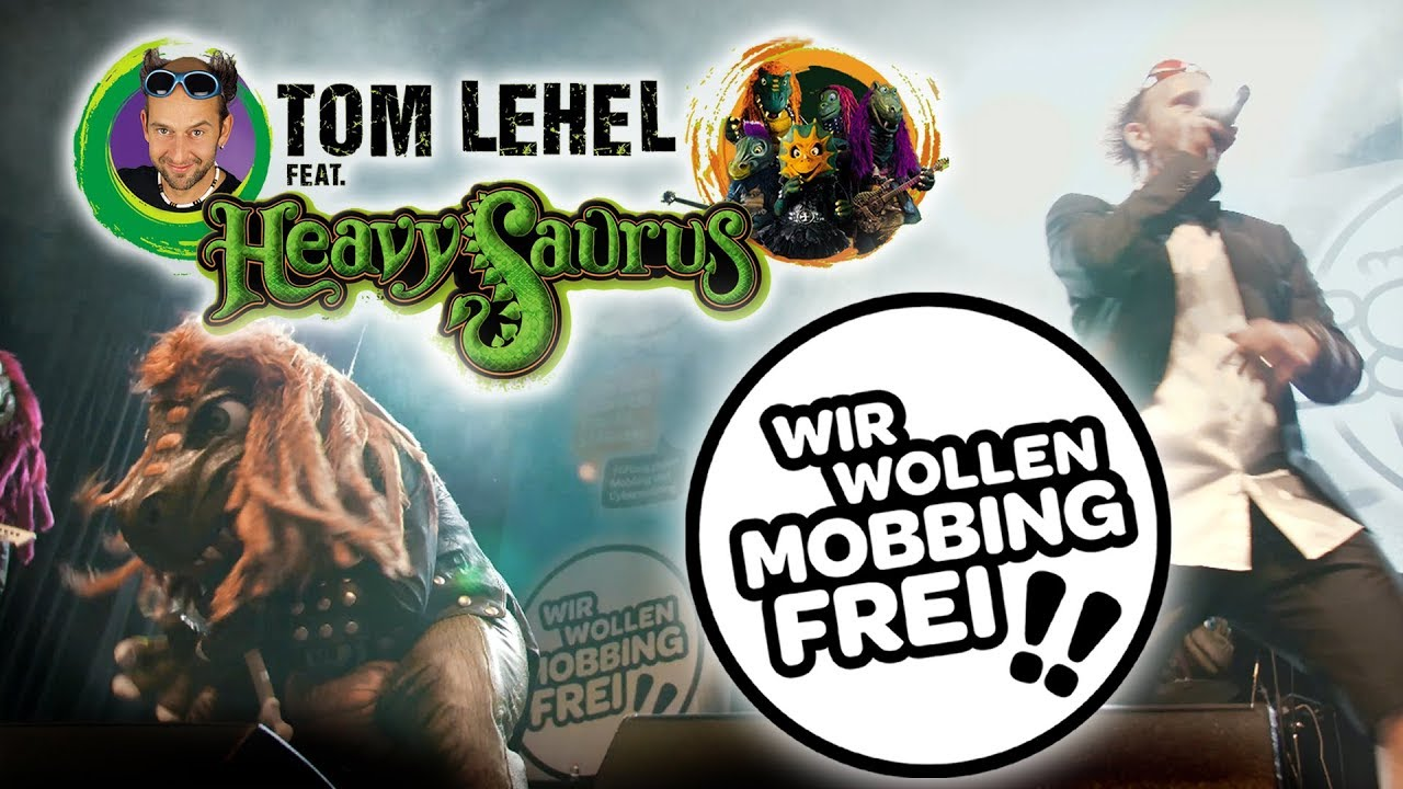 """Tom Lehel feat. Heavysaurus - """"Wir wollen mobbingfrei!!"""" (Official Video)"""