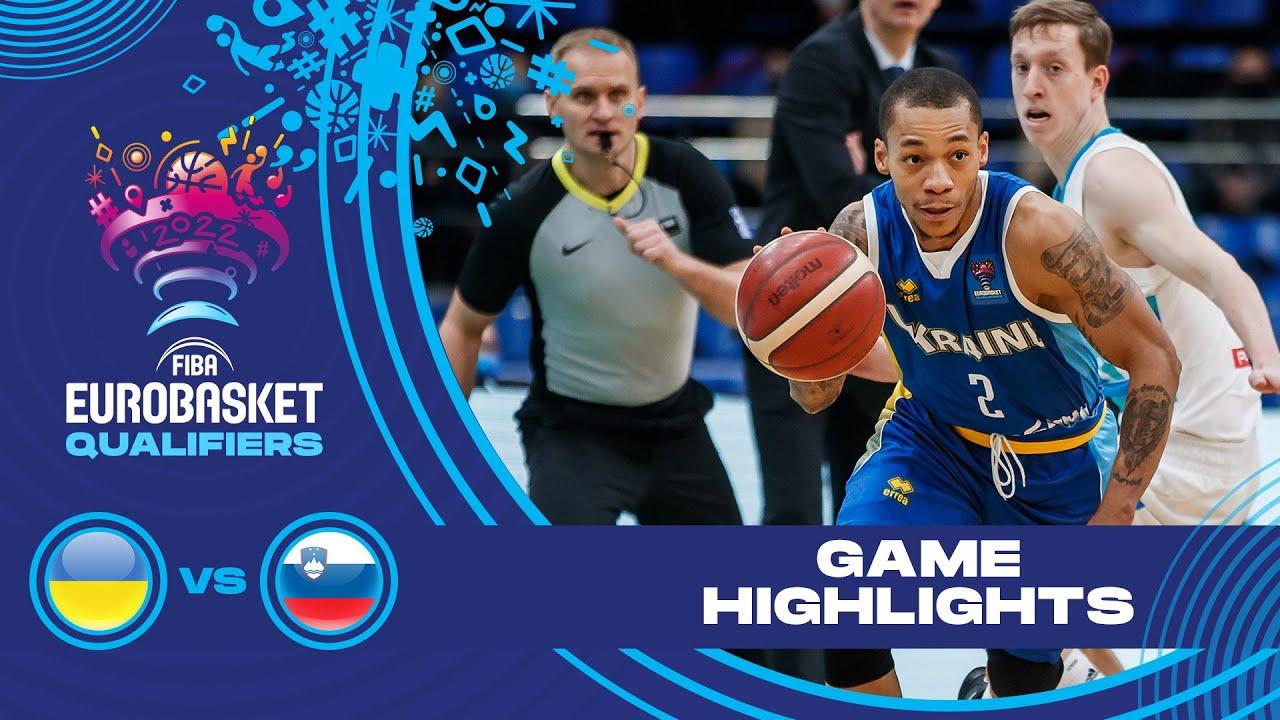 Ukraine - Slovenia | Highlights