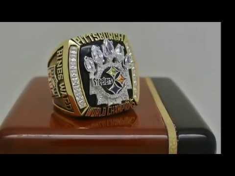 Pittsburgh Steelers 2005 NFL Super Bowl XLV Championship Ring