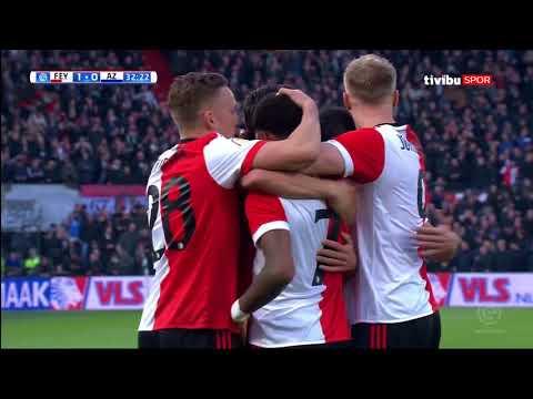 Hollanda Ligi 27. Hafta I Feyenoord 2-1 AZ Alkmaar