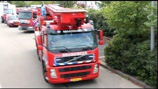 2x Prio 1 TS43-2 HW12-1 TS95-1 DHV Politie - Gebouwbrand Rotterdam