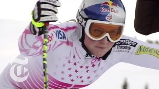 Skiing Downhill With Lindsey Vonn | The New York Times