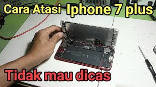 Cara mengatasi Iphone 7 Plus A1784 tidak bisa dicas di charger | fix not charging ways solution
