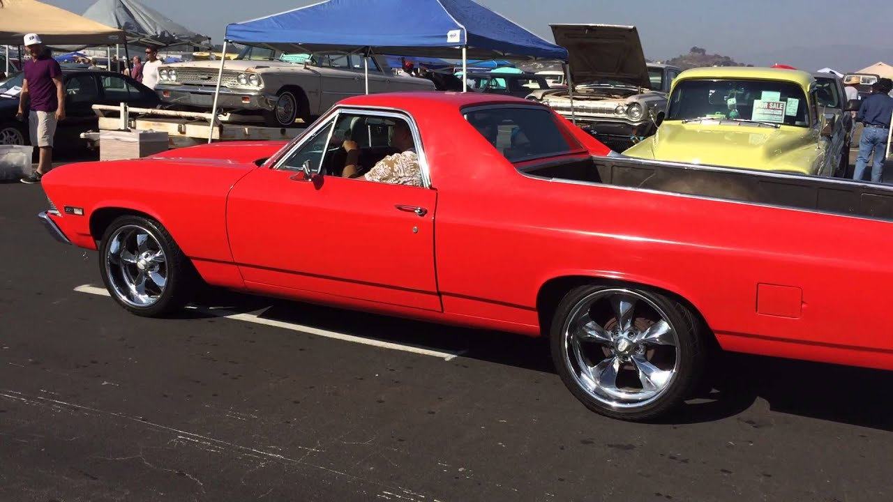 Similiar El Camino Classic Cars Keywords 1954 Chevy 1968 At The Pomona Swap Meet And