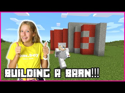 Building a Barn for my Animals!