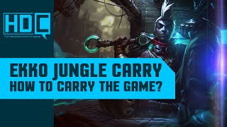 Ekko JUNGLE Plays! - Full Gameplay Guide / Analysis - League of Legends