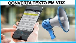 Como Converter TEXTO em VOZ e Ouvir Livros em Português