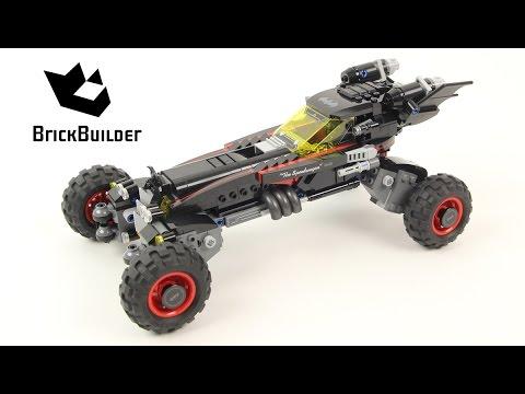 Lego Batman Movie 70905 The Batmobile - Lego Speed Build