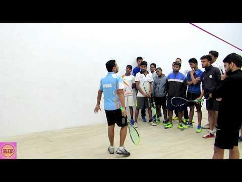 Level 1 Squash Course LOB SHOT Training- By Mr. Gautam Das