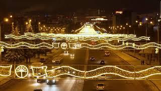 Уфа: новогодняя аэросъемка ❄