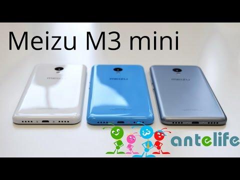 Meizu M3 mini обзор смартфона
