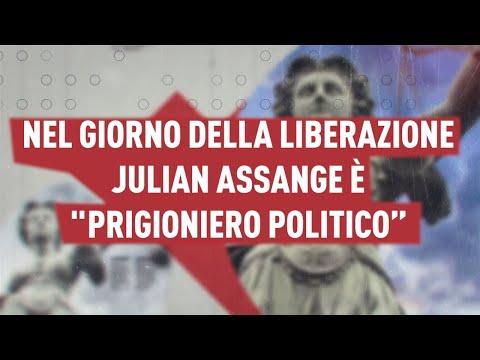 """Antonio Ingroia: Nel giorno della Liberazione Julian Assange è """"prigionierio politico"""""""