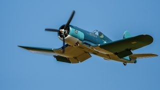 2 8m 250cc moki f4u corsair flight 2 warbird day at irf 720hd