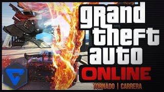 ¡ CARRERA GTA V EN UN TORNADO ! GTA V ONLINE | ( PS4 )
