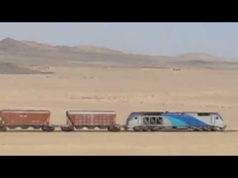 Godståg mot Bandar Abbas, Güterzug nach Bandar Abbas, Freight train to Bandar Abbas