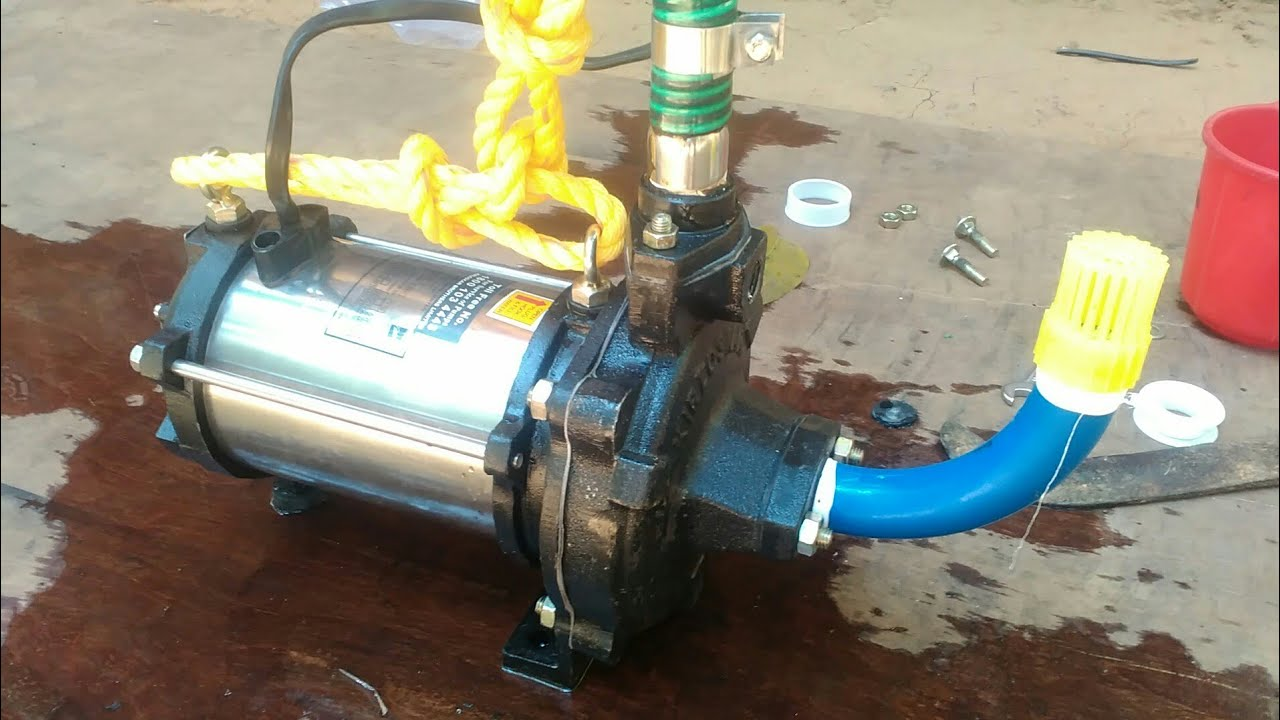 How To Install Submersible Water Pump By Yourself Youtube