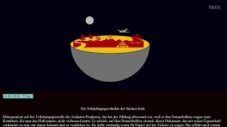Die Schöpfungsgeschichte der flachen Erde