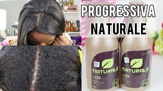 Progressiva Naturale:  retoque de raiz em cabelos crespos