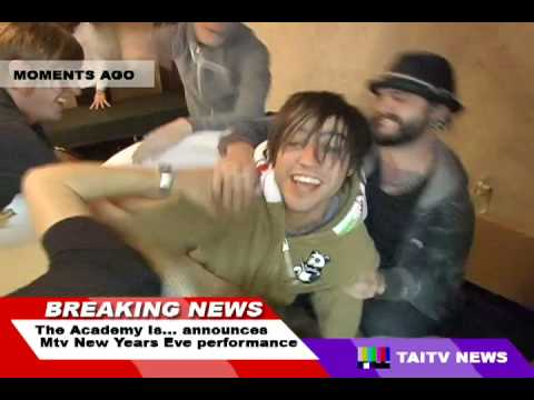 The Academy Is...: MTV New Years Eve