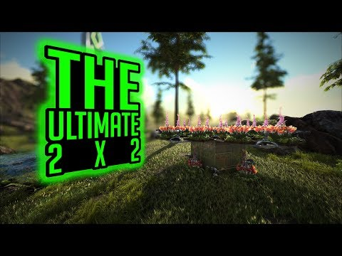 Repeat The Ultimate 2x2 PvP Base Design   ARK: Survival Evolved   by