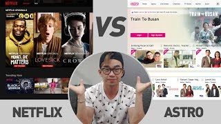 Netflix vs Astro   TricycleTV