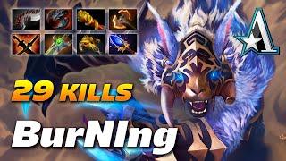 BurNIng URSA 29 KILLS - ANNIHILATION BEAR - Dota 2 Pro Gameplay [Watch & Learn]