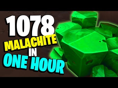 *FASTEST* WAY TO GET TONS OF MALACHITE!   Fortnite Save the World PvE