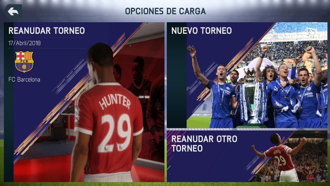 NUEVA ACTUALIZACIÓN DE FIFA 18 v11 PARA DISPOSITIVO ANDROID - NUEVOS ...