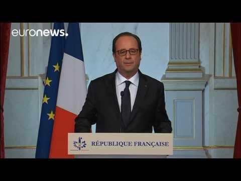 Attentat de Nice : discours du président François Hollande