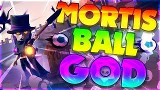 Mortis PRO Brawl Ball Gameplay!