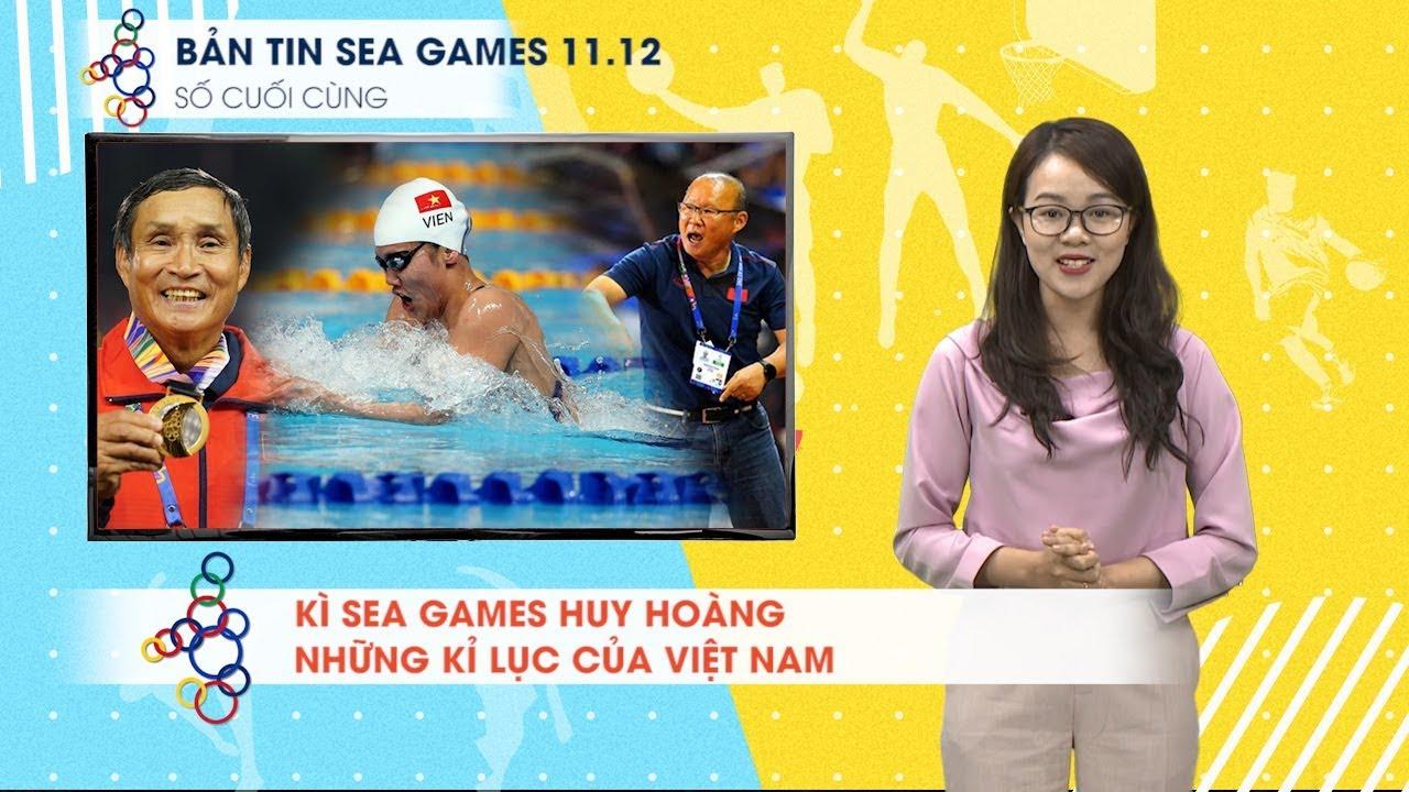 Bản tin SEA Games 11.12 | Những cái nhất của Việt Nam, Ánh Viên được vinh danh