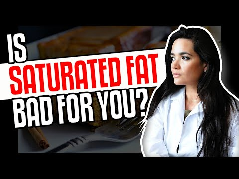 Is Saturated Fats Everything Harmful to Me