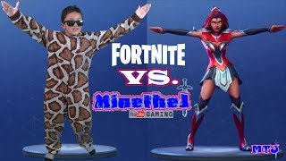 Fortnite Dance Challenge REAL LIFE Saison 1-4 Kid Gamer MinetheJ Jaden Crescendo like eh bee fgteev