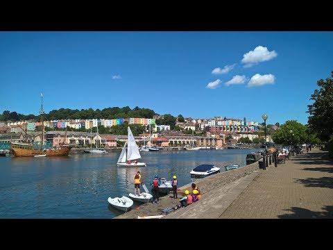 Bristol's historic harbourside picture film