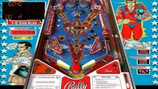 Six Million Dollar Man - Classic Pinball