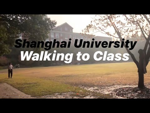 Walking To Class | Shanghai University Yanchang Campus