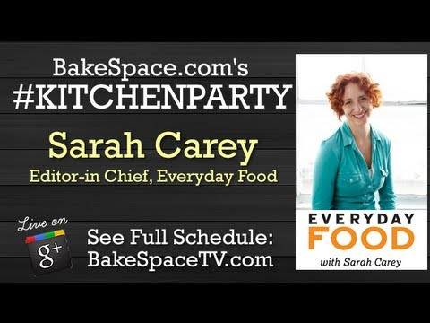 Grilling Recipes: Sarah Carey, Editor-in-Chief, Martha Stewart's Everyday Food #kitchenparty