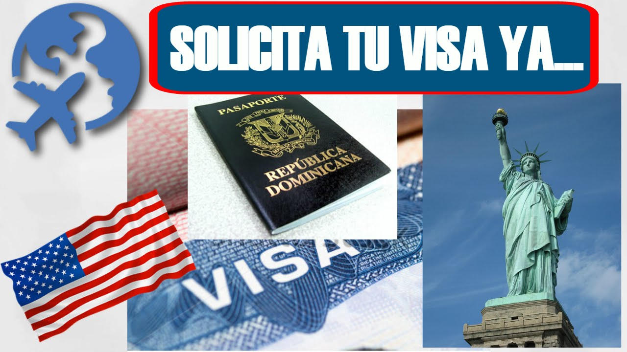 Como Solicitar Adesivo De Deficiente ~ Como solicitar visa para USA en República Dominicana #