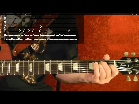 AC/DC - Hell's Bells - Guitar Lesson ( 1 of 2 ) - Easy!