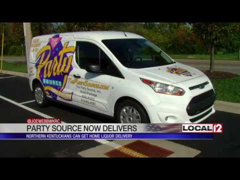 The Party Source To Start Home Liquor Delivery Service