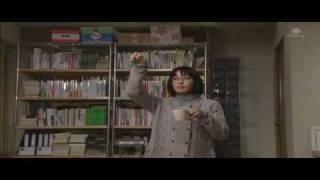 ドラマ『曲げられない女』第4話の中で菅野美穂が『Thriller』で踊って...