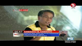 Roxas asks Binay about corruption in Makati
