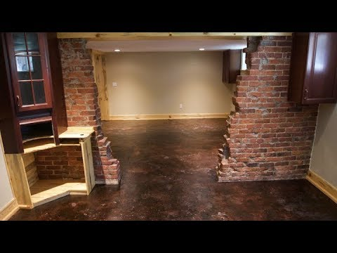 Low Budget Basement Finish On A 125, How To Finish A Basement On Small Budget