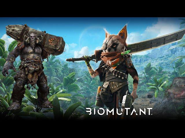 Biomutant (PS5) Mini-Boss Battle Nod to God of War