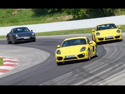 2013 Porsche World Roadshow - 2014 Porsche Cayman