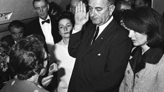 Jackie Kennedy Stands Silently By