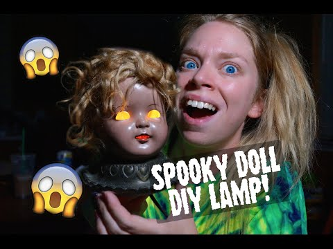Superior PINTERTEST  SPOOKY DOLL HEAD LAMP!
