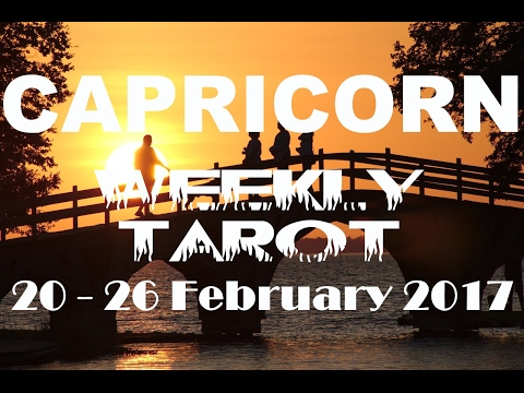 Capricorn Weekly Tarot Reading 20 - 26 February 2017 (Pisces New Moon Solar Eclipse Special)